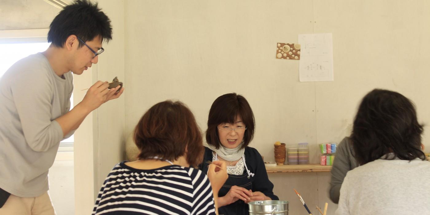 信楽_Ogama陶芸教室の風景05