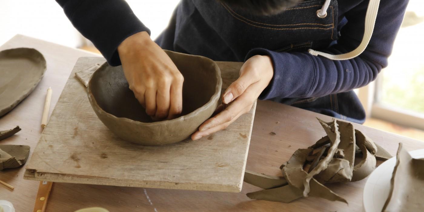 信楽_Ogama陶芸教室の風景01