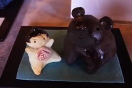 クマと金太