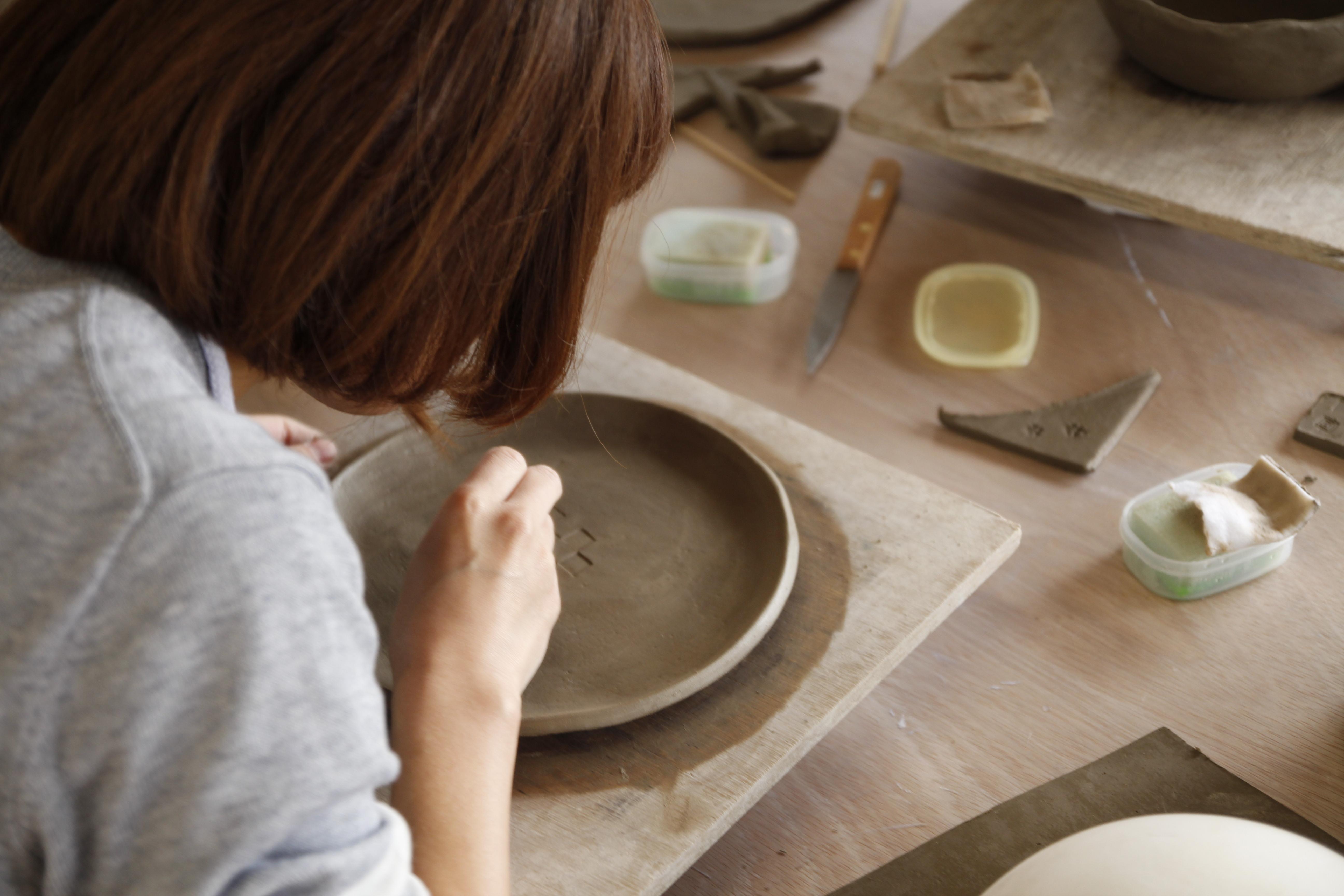 信楽_Ogama陶芸教室の風景03